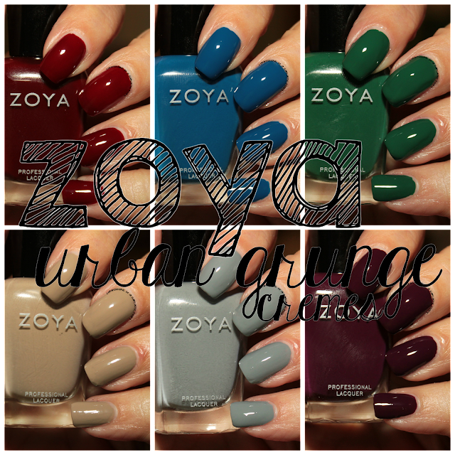 Zoya Urban Grunge One-Coat Cremes