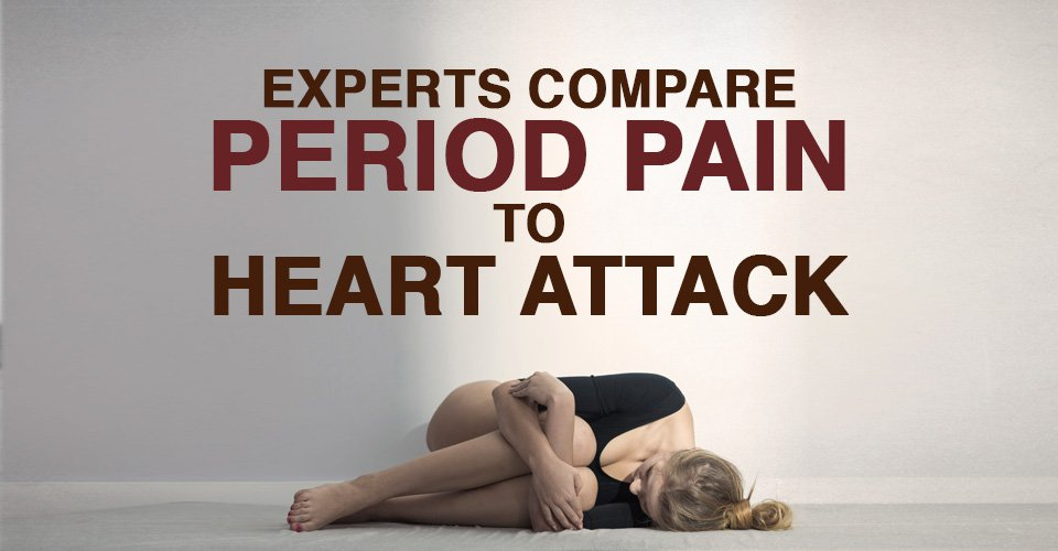 Experts Compare Period Pain To A Heart Attack