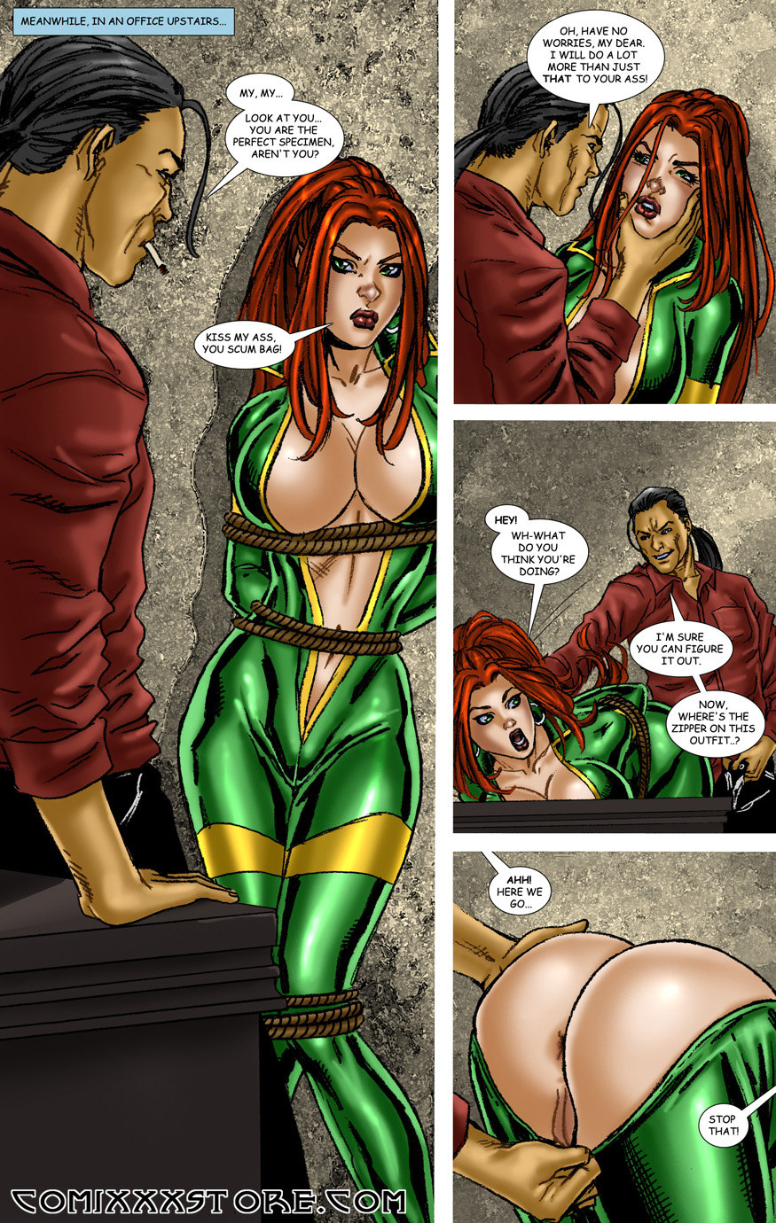 erotic superheroines