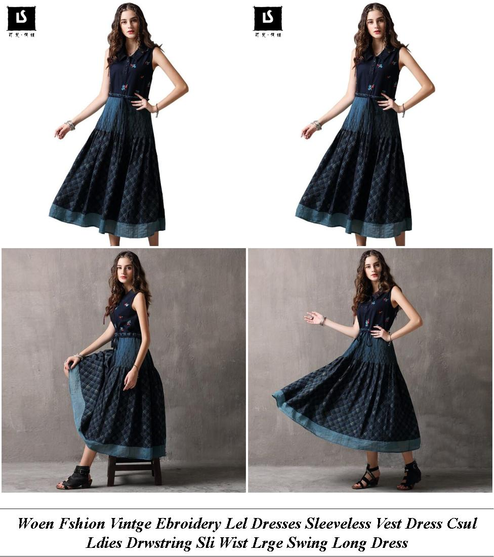 Long Cocktail Dresses For Prom - Wedding Dress Shop For Sale - Dresses With Sleeves For Summer Wedding