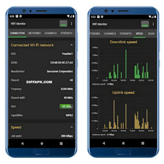 WiFi Monitor Pro: analyzer of WiFi networks Apk v2.4.0 [Paid]