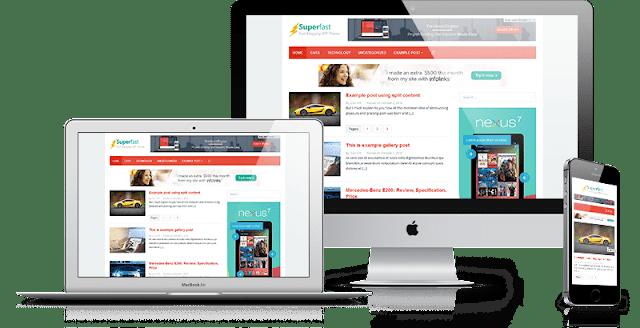 template wordpress paling ringan responsive dan seofriendly