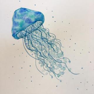 watercolor3 - Freeform Friday: Watercolor the Easy Way - Sara Berrenson + A GIVEAWAY