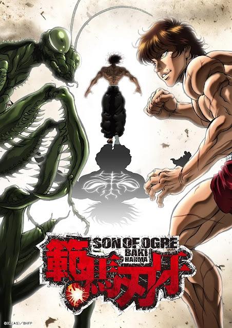 Anime Hanma Baki estreia na Netflix em Setembro