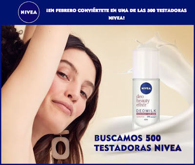 Prueba gratis Nivea Deomilk Sensitive Roll-On