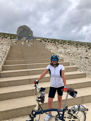 French Village Diaries cycling up Mont Ventoux Tom Simpson memorial