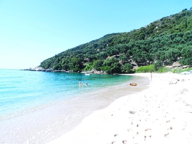 PARGA Travel Guide Lichnos beach.Parga letovanje Lihnos plaza.