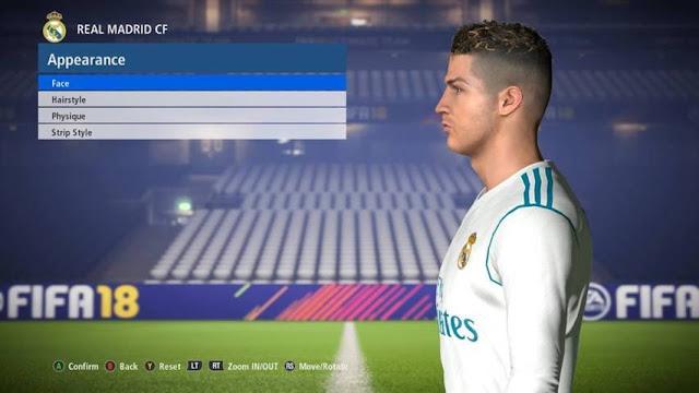 C. Ronaldo Face PES 2017