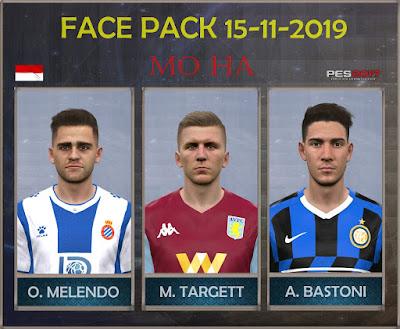 PES 2017 Facepack 15-11-2019 by Mo Ha