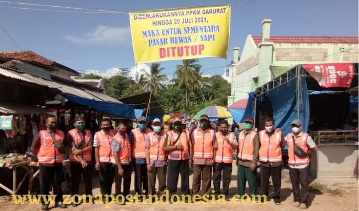 Selama Pemberlakuan PPKM Darurat, Pasar Hewan di Kabupaten Sumenep Ditutup Sementara