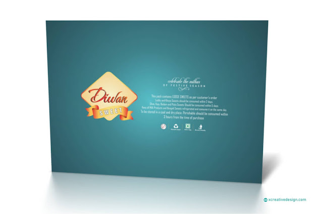 Sweet Box Design in CorelDRAW