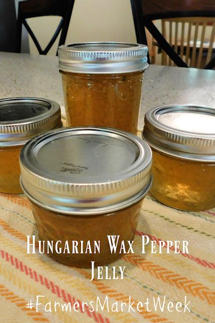 Hungarian Wax Pepper Jam
