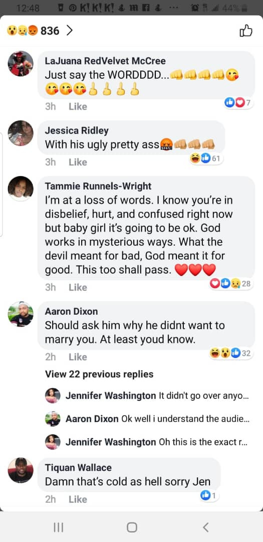 Lady Shares chats After She Discover Her Boyfriend Of Two Years Just Got Married