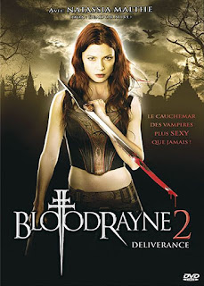 BLOODRAYNE 2 : DELIVERANCE, Natassia Malthe, Uwe Boll, jaquette, vampire, western, Zack Ward