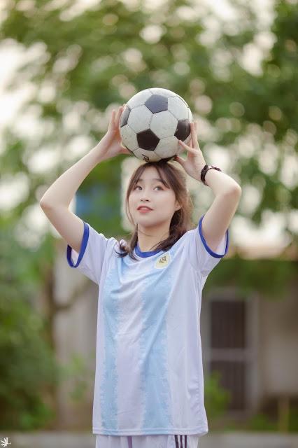 Nguyễn Quỳnh Anh 2k3 Hưng Yên hot girl bóng đá