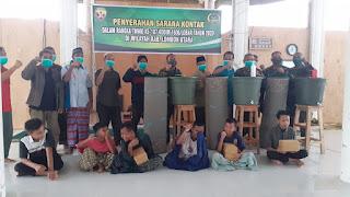 Dansatgas TMMD ke-107 Serahkan Bantuan ke Sejumlah Masjid