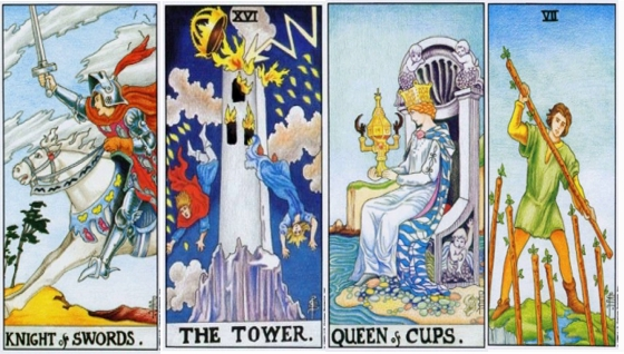 Гадание: 4 карты таро дадут Вам совет
