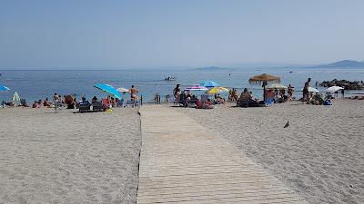 tipica spiaggia europea
