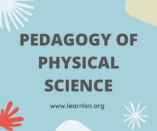 PEDAGOGY OF PHYSICAL SCIENCE cblu b.ed 1st year previous year question paper 2021
