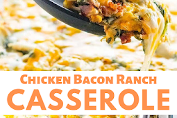 Low Carb Keto Chicken Bacon Ranch Casserole Recipes