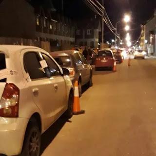Auto incautado y conductor agredio a la policia
