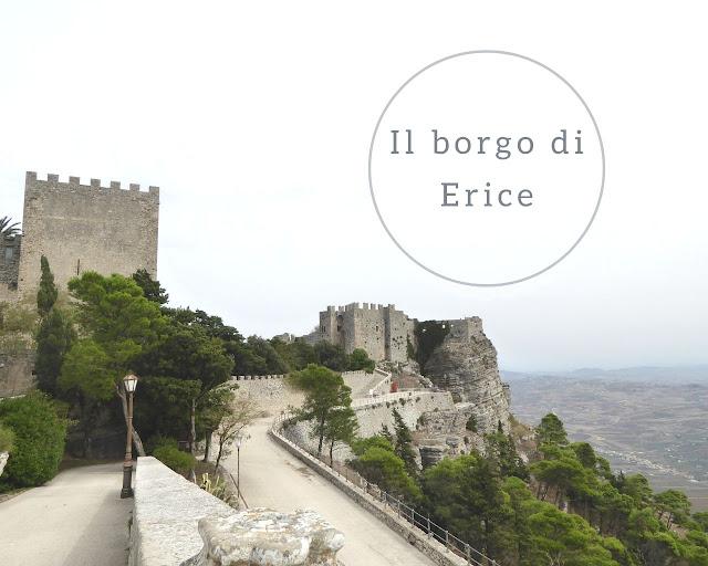 Erice: il castello nel borgo medievale