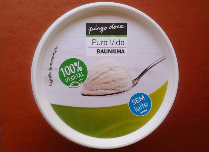 Gelado 100% vegetal do Pingo Doce