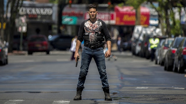 The punisher saison 2 Steve Lightfoot Screenshooter Jon Bernthal