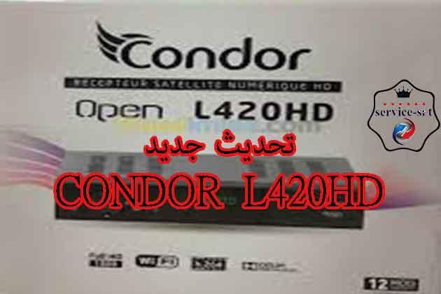 اخر تحديث لجهاز كوندور CONDOR TGX140 L420HD