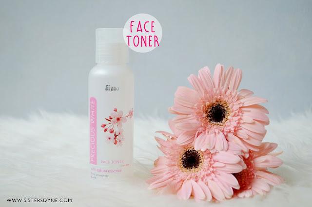 Fanbo Precious White Face Toner