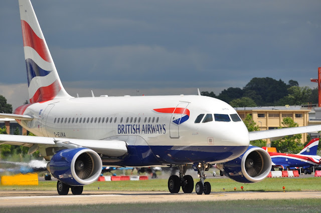 Airbus A318-100 While Taxiing