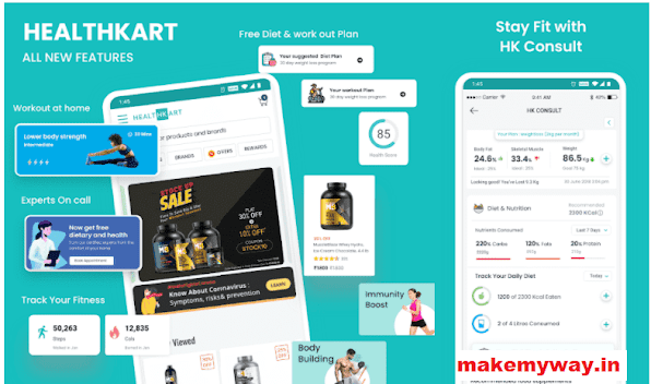 HealthKart Referral Code 2021: Earn ₹200 Off Your Next Order
