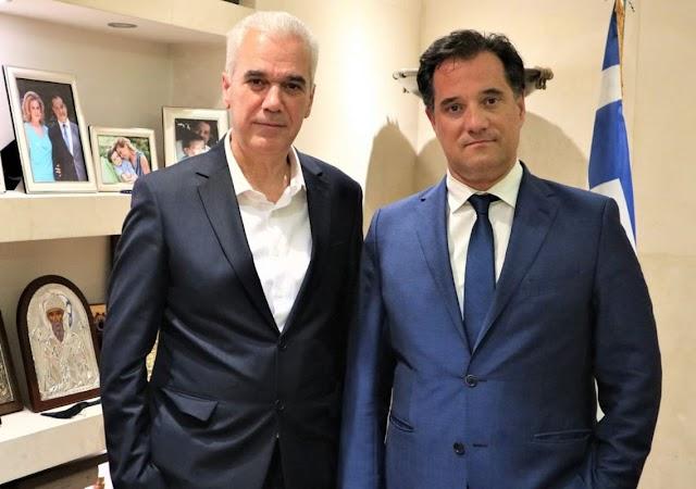 Συνάντηση με τον Υπουργό Ανάπτυξης και Επενδύσεων, κ. Άδωνι Γεωργιάδη
