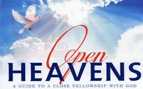 OPEN HEAVEN 16 JUNE 2021 – OPEN HEAVENS FOR TODAY