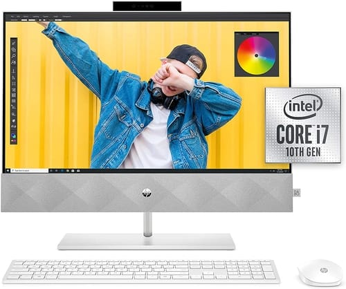 HP 24 Pavilion 24-k0080 All-in-One PC 2020