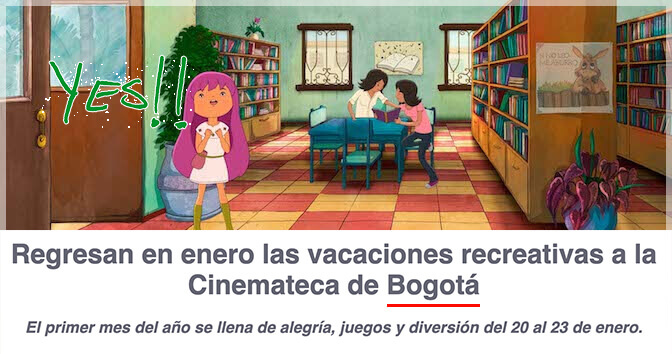 Vacaciones recreativas en la cinemateca