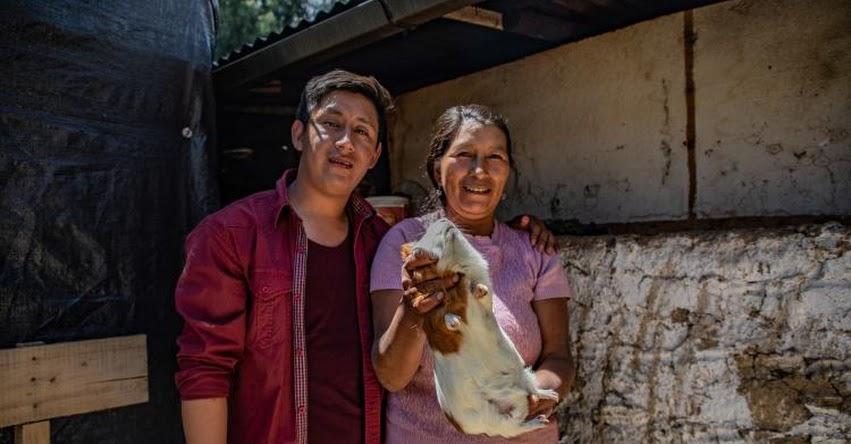 ABEL ROJAS POZO: Conoce al talento de Beca 18 que quintuplicó los cuyes de Huayllaspanca - Junín [VIDEO]