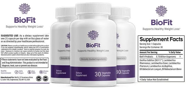 1. Biofit: (Biofit Review)