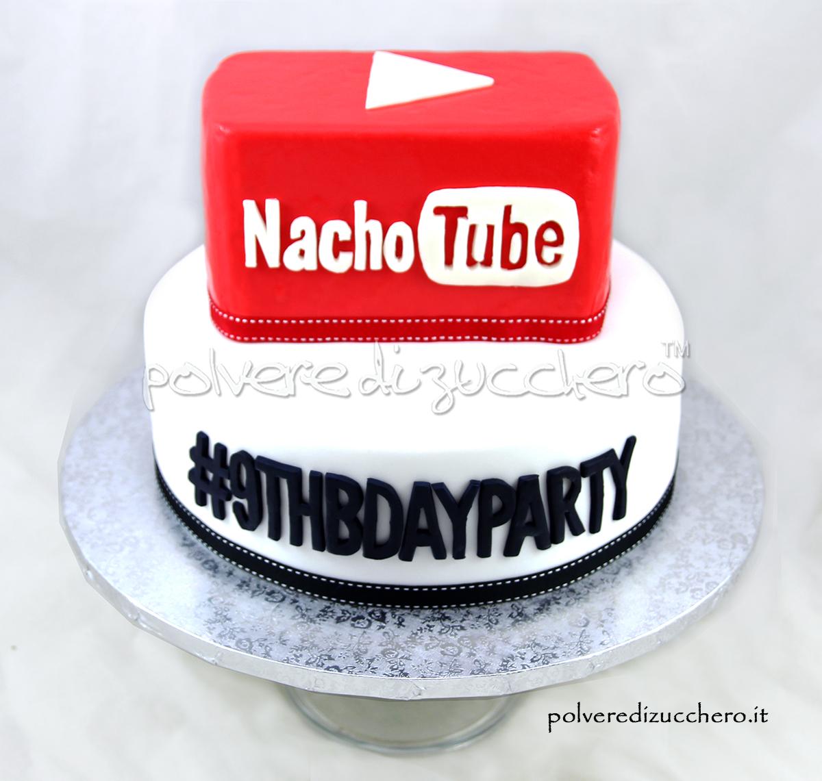 torta decorata pasta di zucchero cake design youtube compleanno polvere di zucchero torta a piani