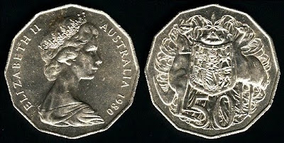 Australia  50 Cents (1969-1984) 1971