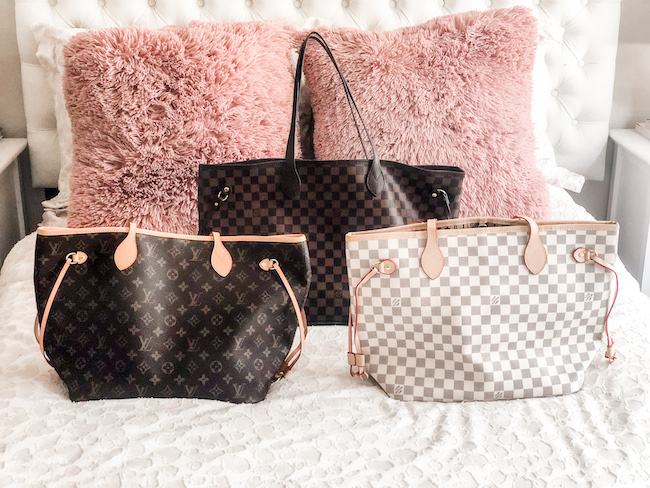 How To Buy Fake Louis Vuitton Online And Is It Worth It Neverfull Review The Classic Brunette