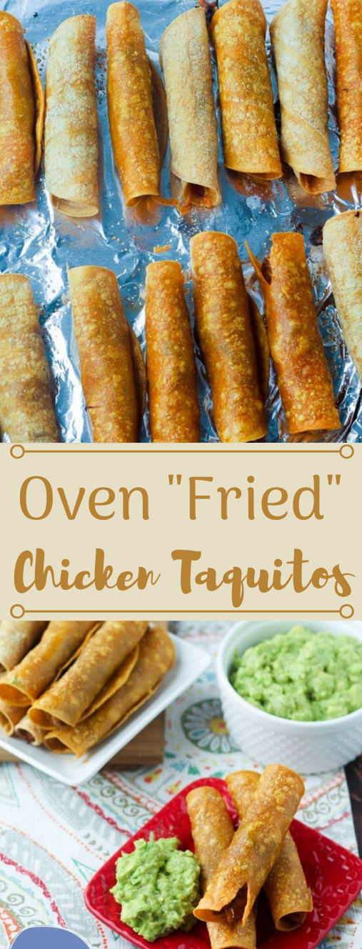 OVEN FRIED CHICKEN TAQUITOS #dinner #chicken #taquitos #lunch #shrimp