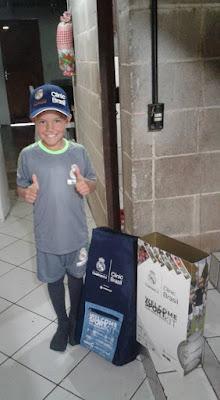 Welinton Rafael participa de clinica de fundação