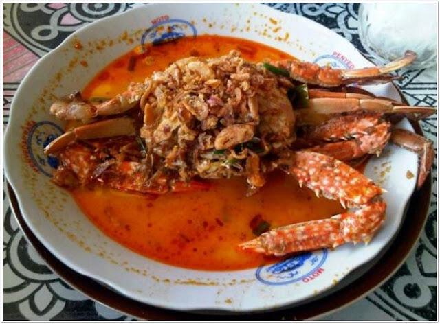 Kare rajungan Manunggal Jaya;10 Top Kuliner Kabupaten Tuban;
