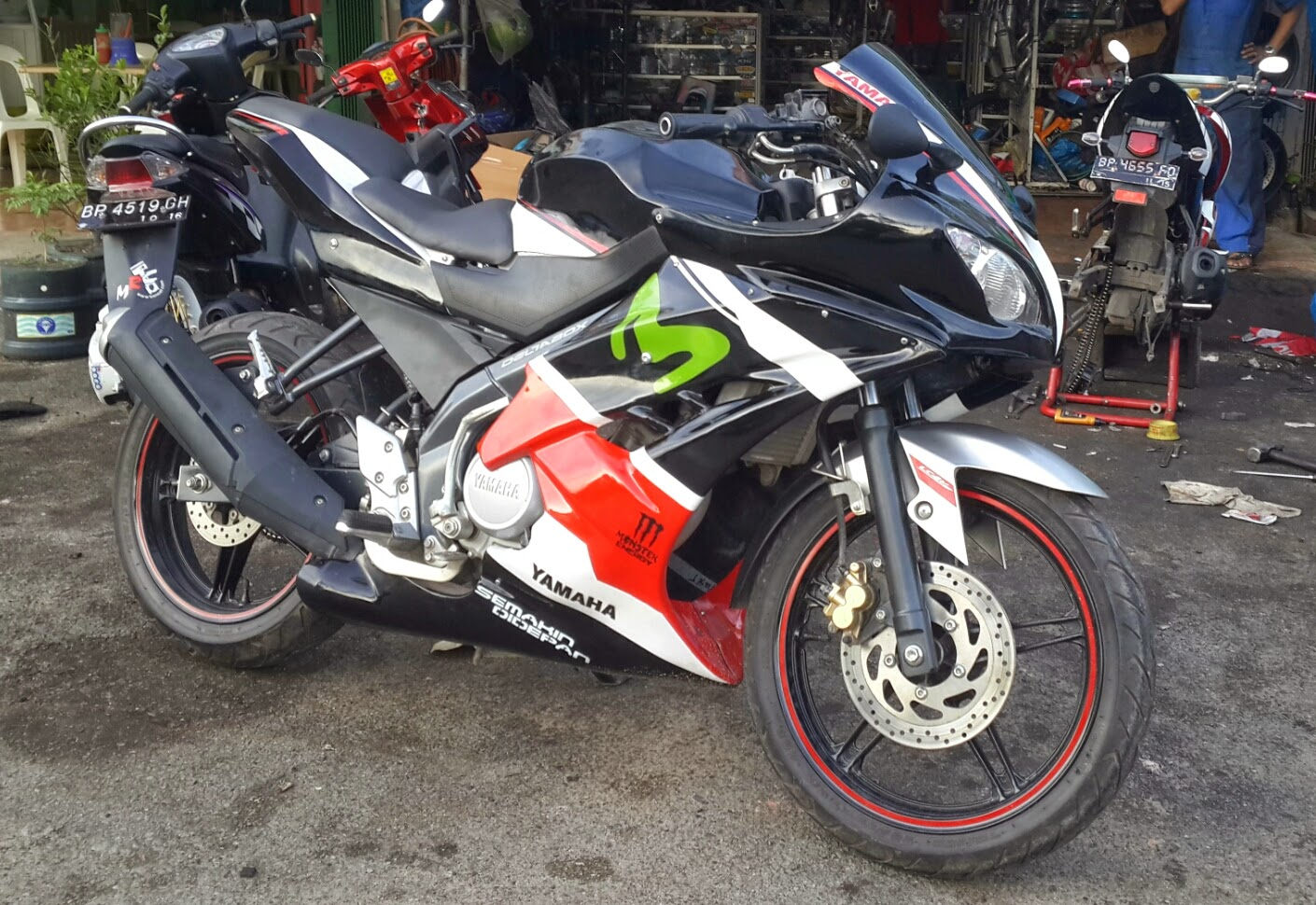 BARELANG MOTOR ( Bengkel Variasi Motor Dan Modifikasi