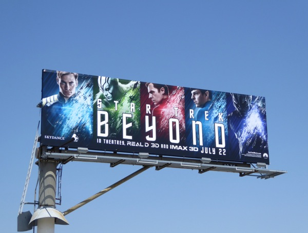 Star Trek: Beyond movie billboard