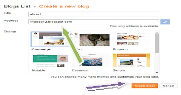 letsupdate, learn blogging-2020, for online money, title selection and address selection
