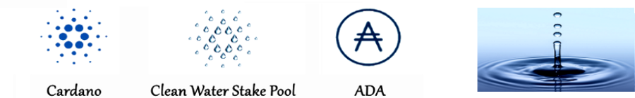 Cardano Clean Water Stake Pool