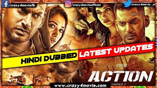 Action Hindi Dubbed Full Movie | Vishal's Action Movie In Hindi | Updates
