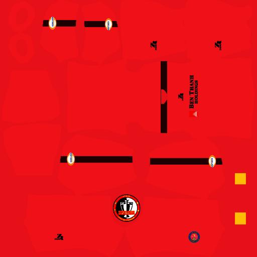 Kits Sài Gòn FC - Dream League Soccer 2021